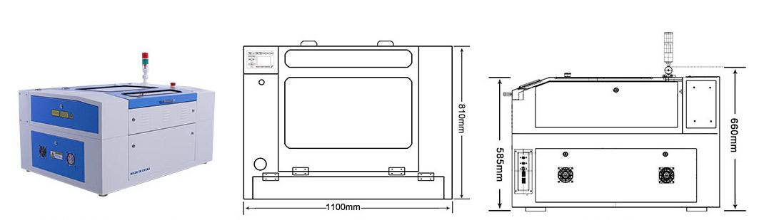 Desktop laser cutting system