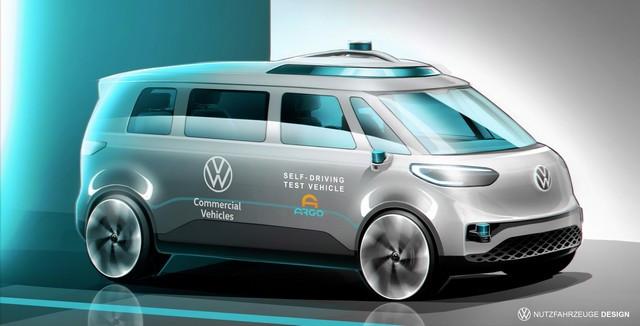 Volkswagen Véhicules Utilitaires progresse sur la conduite autonome destinée à la « Mobility-as-a-Service » DB2021-AU00053-medium