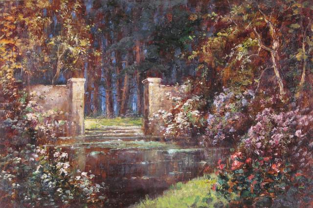 Thomas-Edwin-Mostyn-The-pool-by-the-garden-gate.jpg