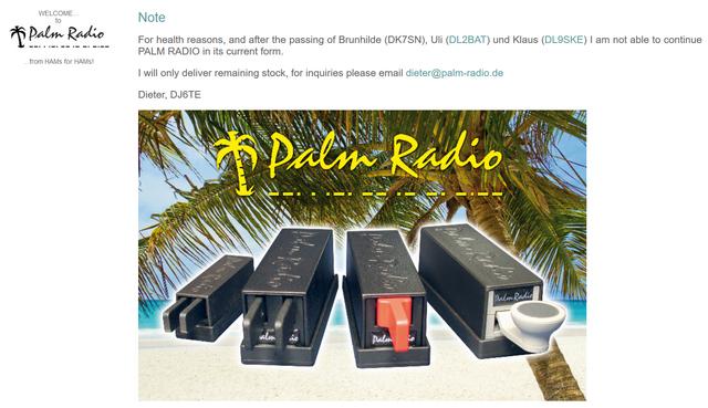 Palm-Radio