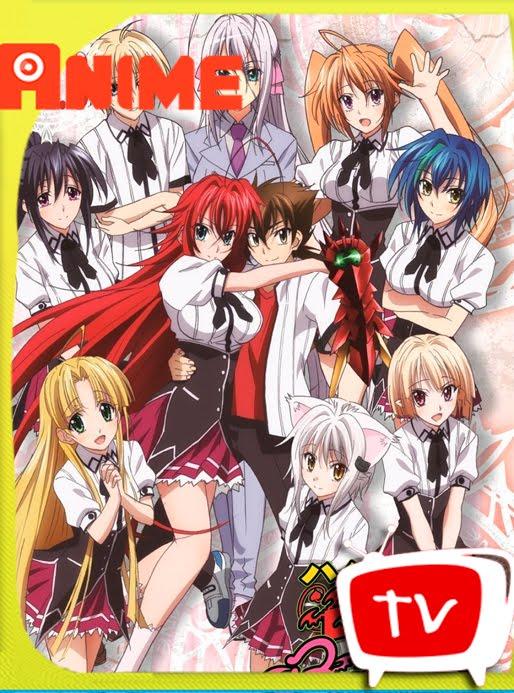 High School Dxd Season 3 :Born BD[1080p][FLAC][10bits] Subtitulado-kurosakikun0