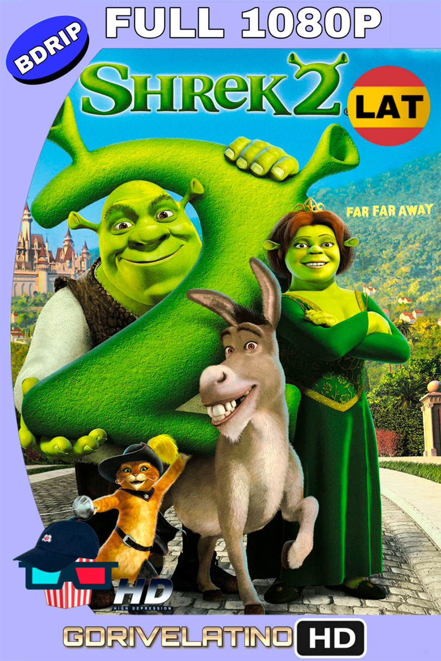 Shrek 2 (2004) BDrip FULL 1080p Latino-Ingles MKV