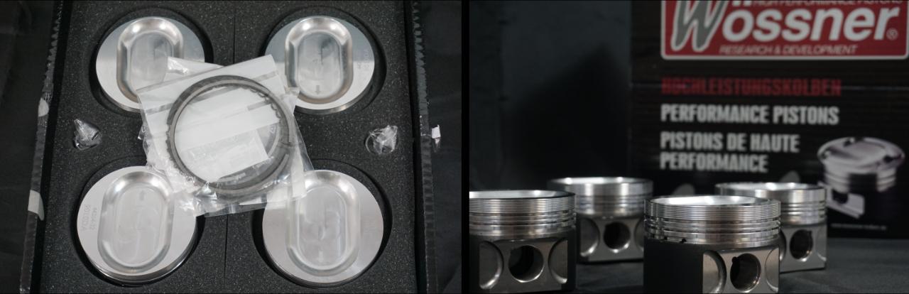 9010DA 8v forged wossner pistons
