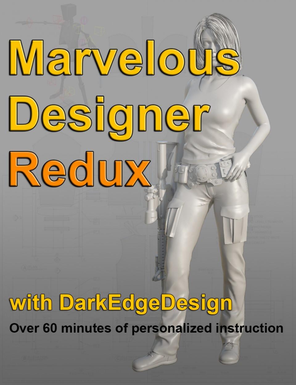 Marvelous Designer Redux Video Tutorial