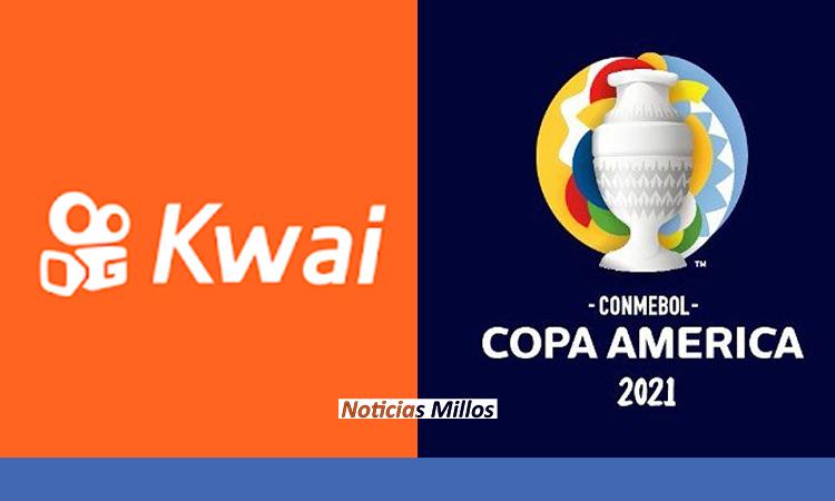 KWAI es la red social oficial de la Copa América 2021