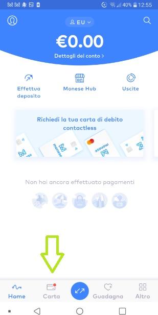 MONESE App gratuita regala fino a 20 Euro in denaro + altrettanti € SENZA LIMITI x inviti! Carta-Ordine-Monese-1
