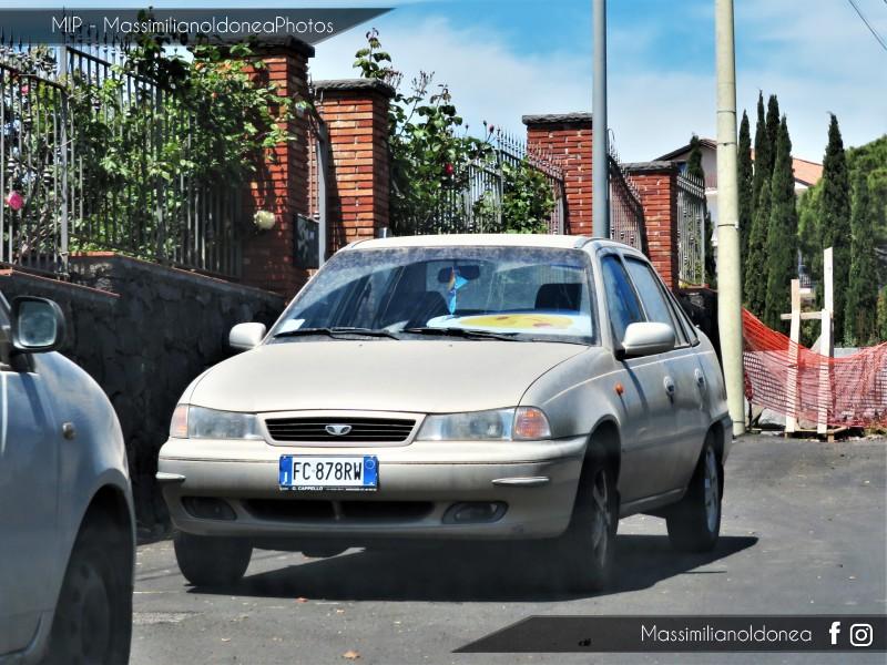 Avvistamenti auto rare non ancora d'epoca - Pagina 22 Daewoo-Cielo-1-5-78cv-B73-HAM-FC878-RW-95-233-25-1-2019