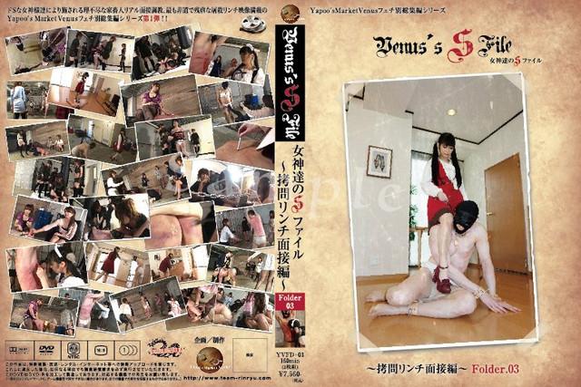 YVFD-03 Venus' SFile 女神達のSファイル〜拷問リンチ面接編 Folder.03