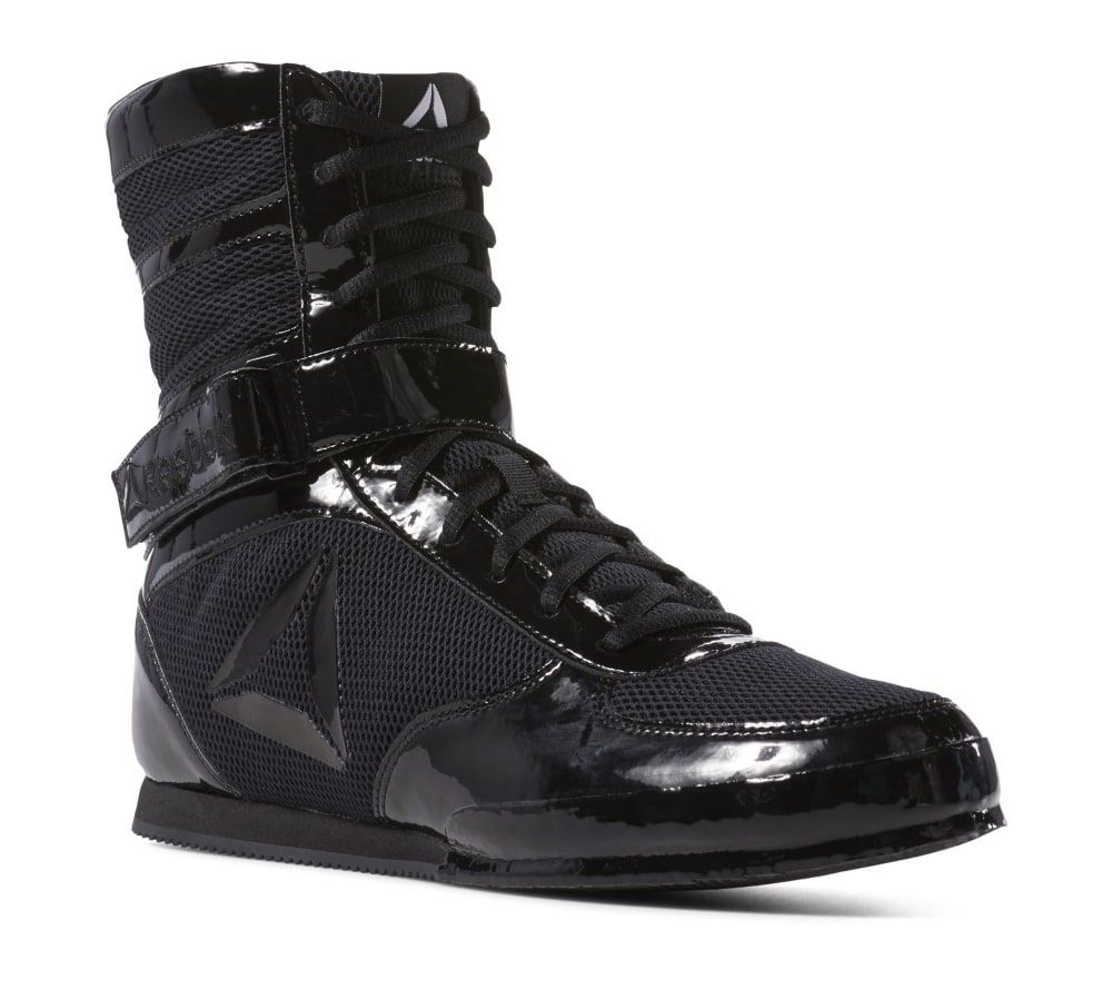 Боксерки Reebok Boxing Boot Buck III New - черный лак