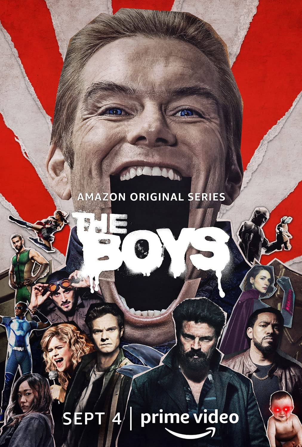 The Boys 2019 S01 Hindi Complete AMZN Web Series 720p HDRip 3.1GB | 1.4GB Watch Online