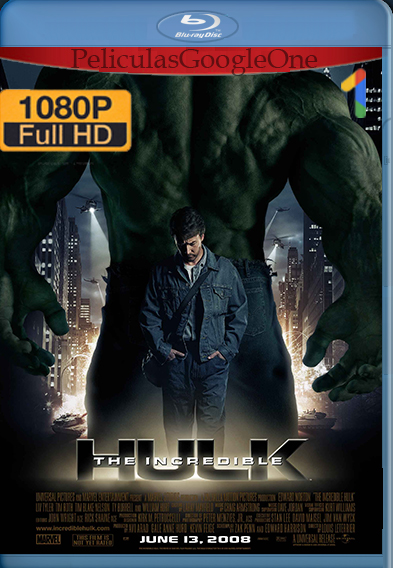 El Increíble Hulk (2008) [1080p HD BRip] [Latino-Inglés] [GoogleDrive]