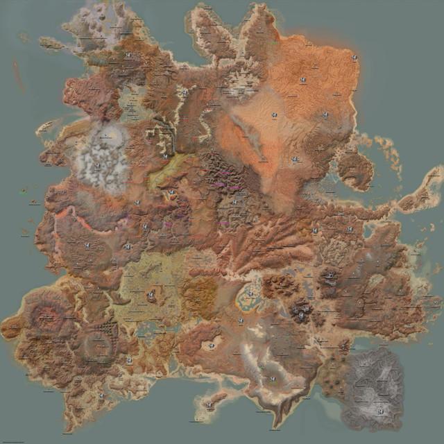 Карта городов Kenshi EN-RU v0.1