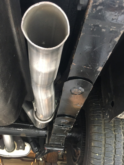 RH Tail Pipe