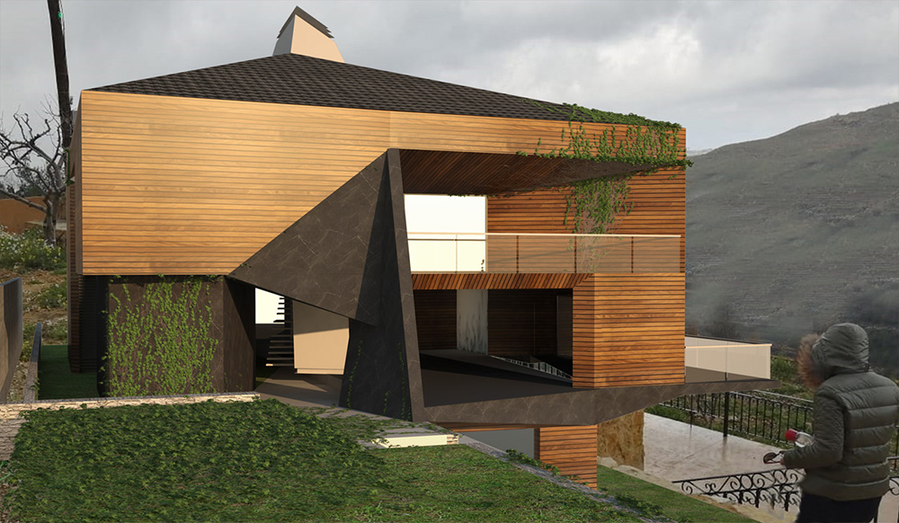 Origami House Architecture Project