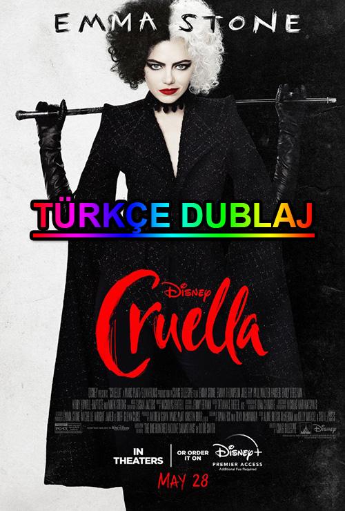 Cruella | 2021 | WEB-DL | XviD | Türkçe Dublaj | m720p - m1080p | WEB-DL | Tek Link