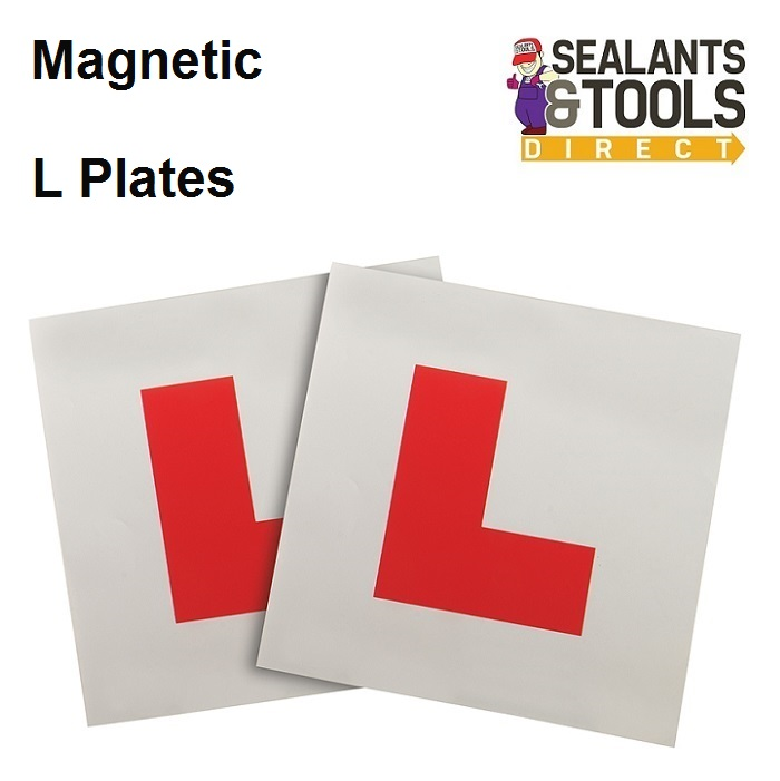 Magnetic Car Learner L Plates Twin Pack 583036