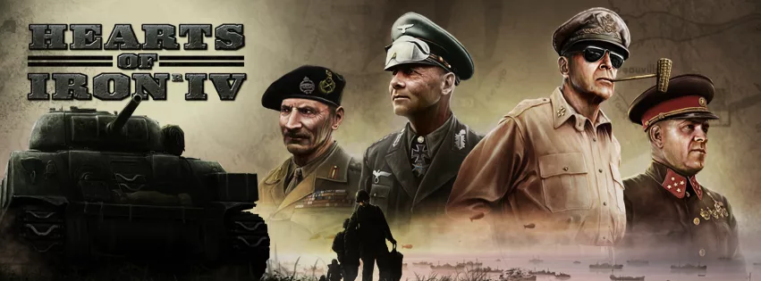 Hearts of Iron IV: Field Marshal Edition [1.6.1 + DLC]