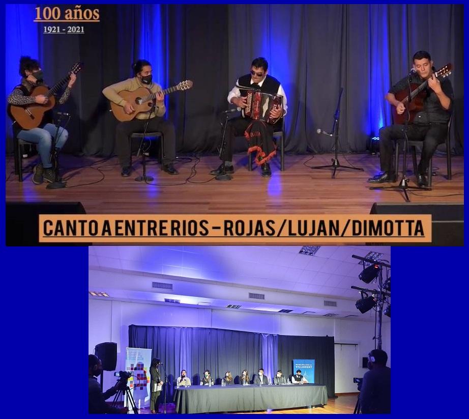 Inauguraron en Villaguay las actividades por el Centenario del Nacimiento de Abelardo Dimotta