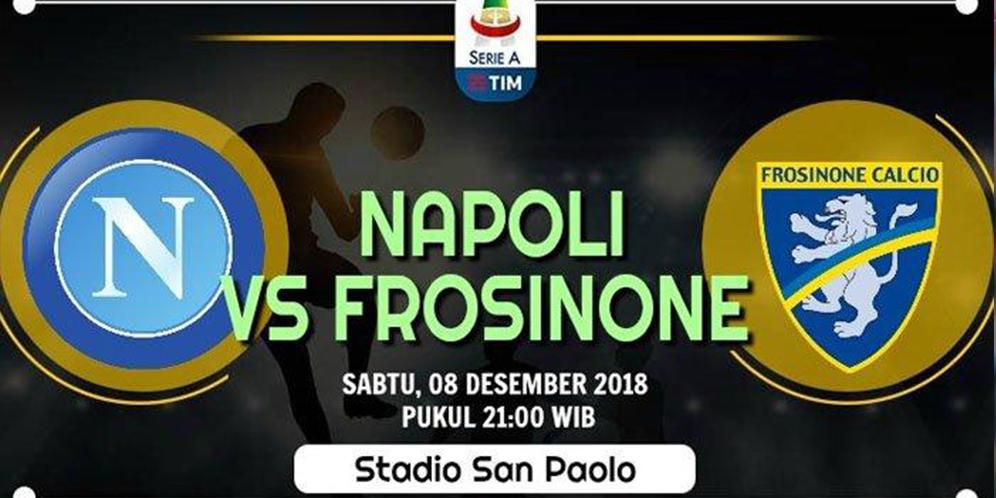 Napoli VS Frosinone 4-0 Hasil Liga Italia - Cuplikan Gol