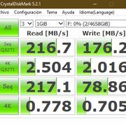 disco nuevo 5TB velocidad escritura lenta. No permite activar cache de escritura