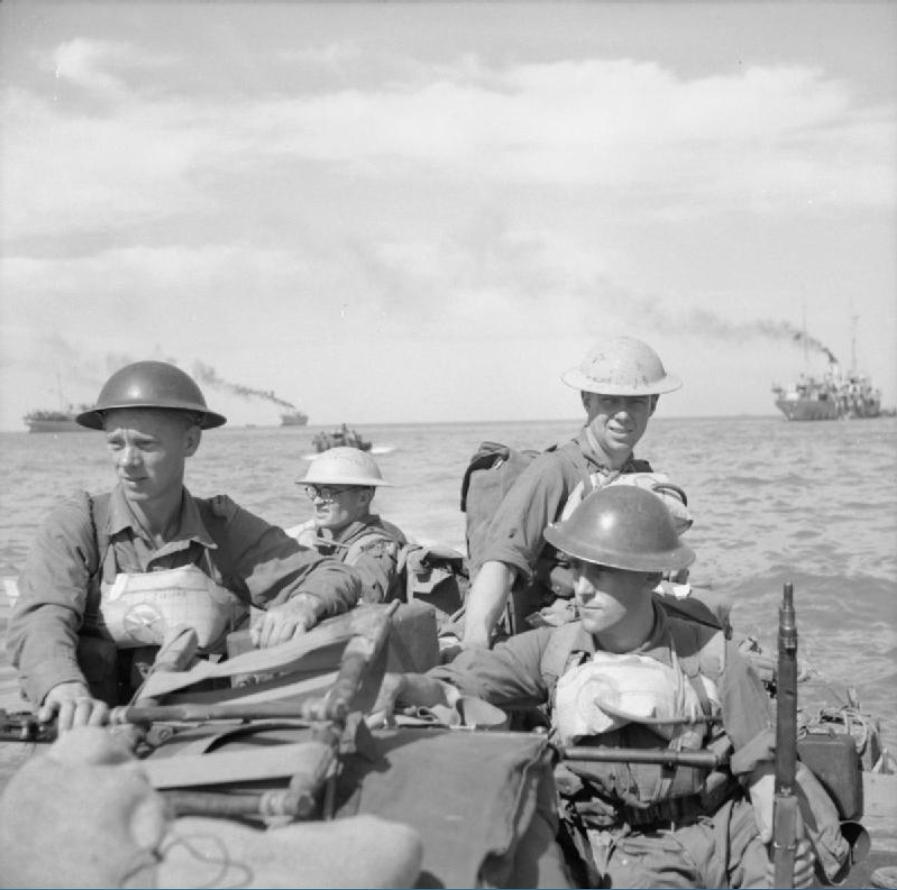 British soldiers.