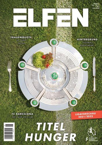 Cover: Elfen Das Frauenfußball-Magazin No 06 2021