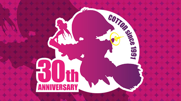 《Cotton》系列30周年网站上线新作2021年发行  Cotton-30th-01-01-21