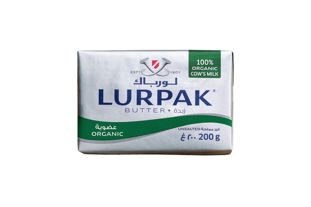 """კარაქი """"Lurpak"""" ორგანული 250გრ"""