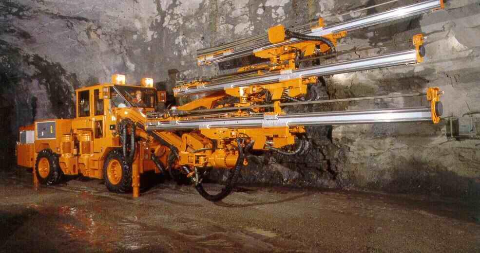 mining engineering underground drilling machine