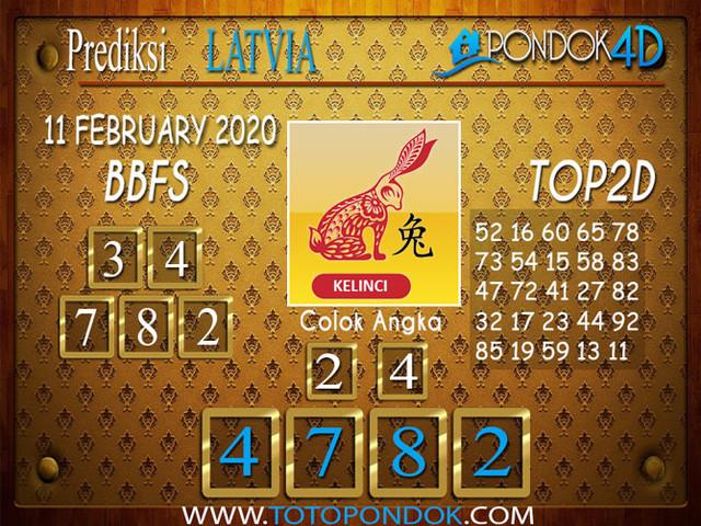 Prediksi Togel LATVIA POOLS PONDOK4D 11 FEBRUARY 2020