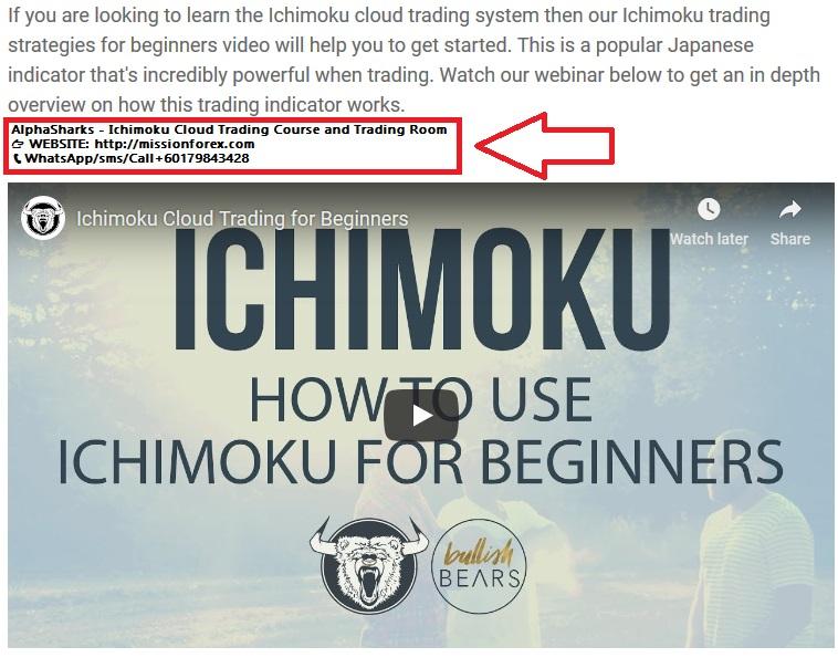 AlphaSharks - Ichimoku Cloud Trading Course and Trading Room