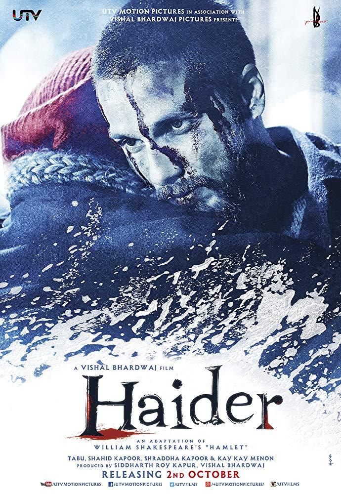 Haider 2014 Hindi Movie 480p BluRay 550MB Download