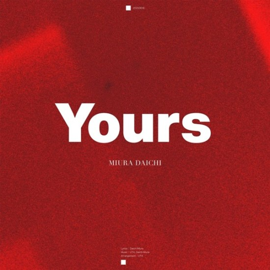 [Single] Daichi Miura – Yours