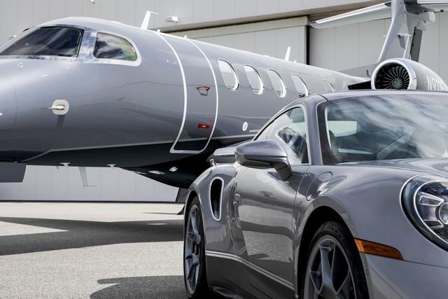 Haute performance sur terre et dans les airs: Porsche coopère avec Embraer S20-5305-fine