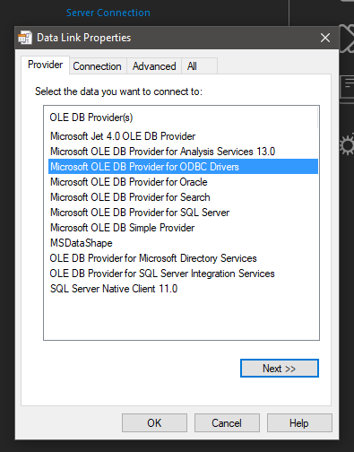 Cannot connect to a MySQL server
