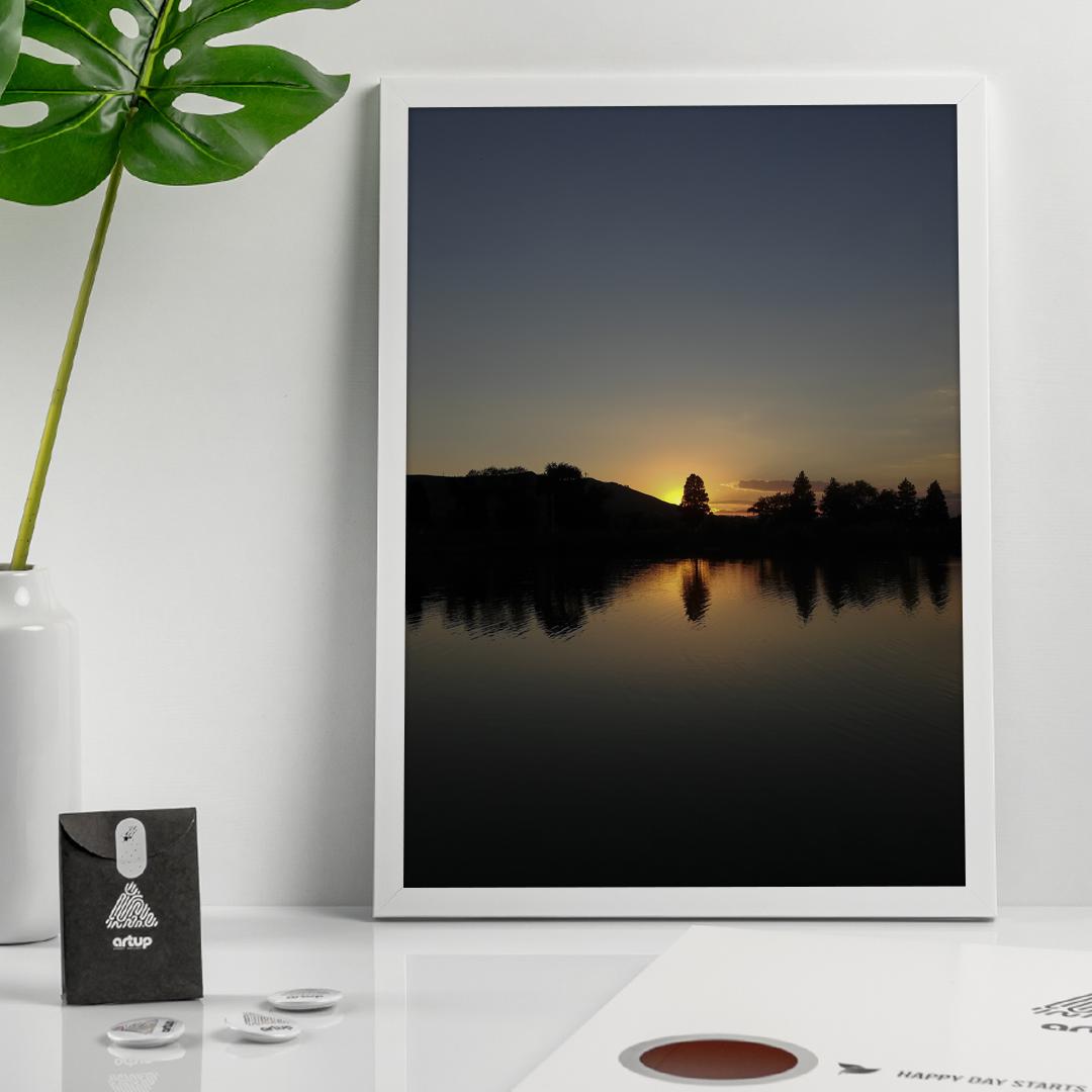 When The Sun Goes Down (39x54 CM)
