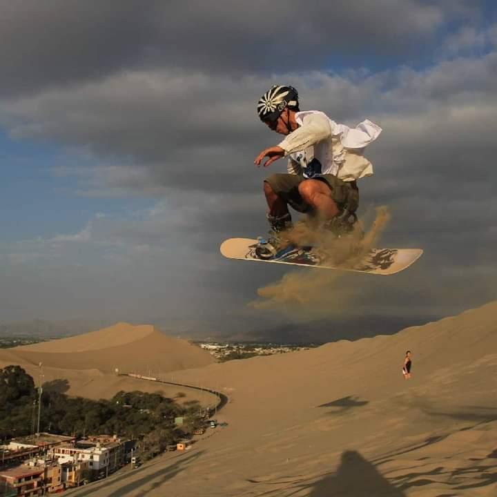 instructor sandboarding