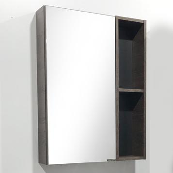 """Зеркало -шкаф """"Франкфурт-60"""" дуб шоколадно-корич."""