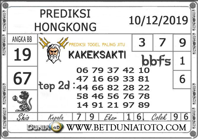 Prediksi Togel HONGKONG DUNIA4D 10 DESEMBER 2019