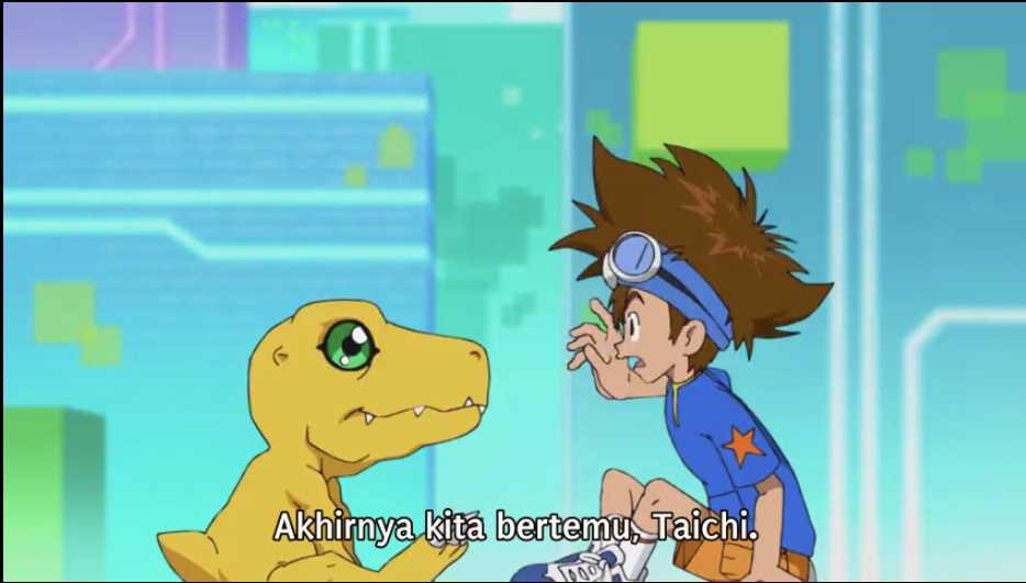 Download Digimon Adventure 2020 Episode 1 Subtitle Indonesia