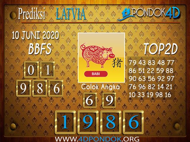 Prediksi Togel LATVIA POOLS PONDOK4D 10 JUNI 2020