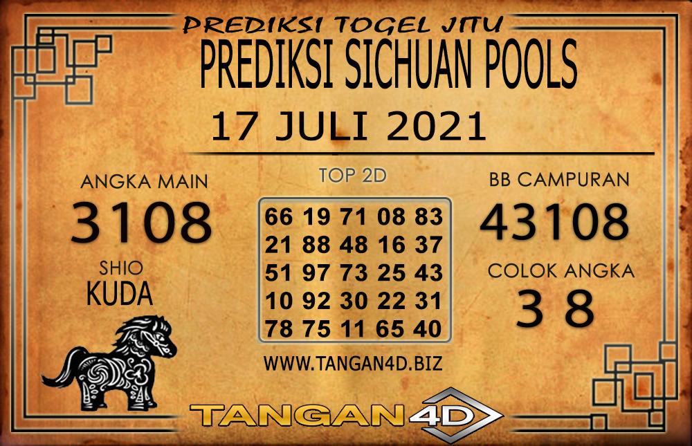PREDIKSI TOGEL SICHUAN TANGAN4D 18 JULI 2021