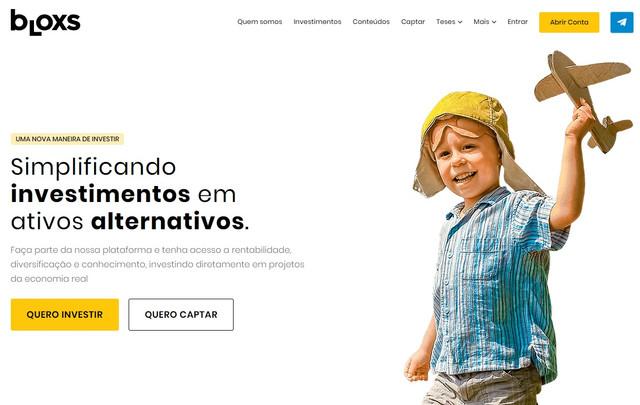 site-da-bloxs-investimentos-alternativos