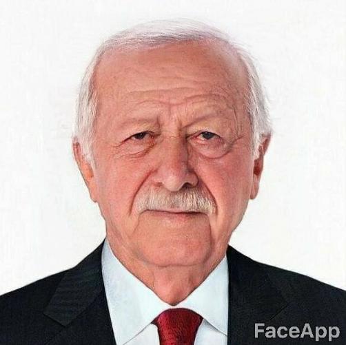 Cumhurbaşkanı Recep Tayyip Erdoğan FaceApp