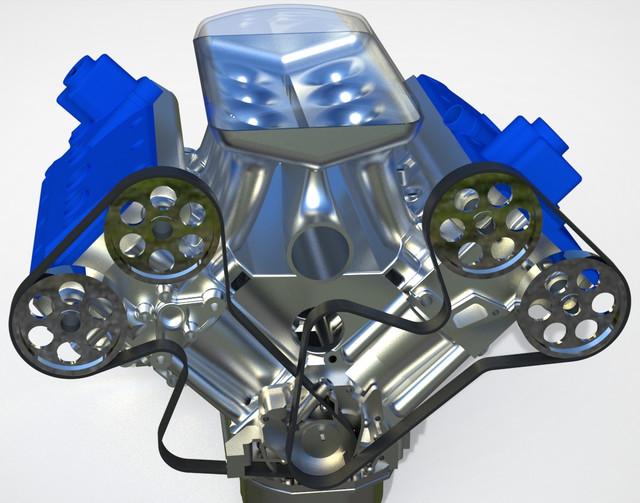 ВАЗ-V8. Восьмицилиндровый из двух вазовских. Vaz-3