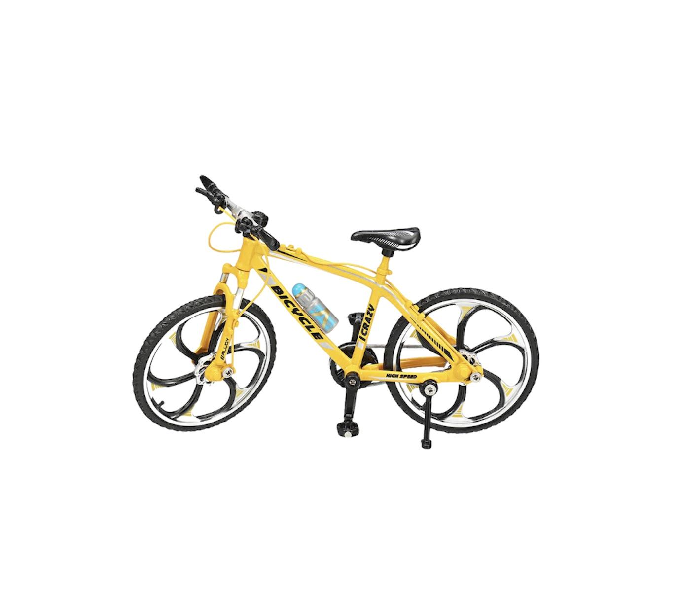 ველოსიპედი მეტალის (ყვითელი)