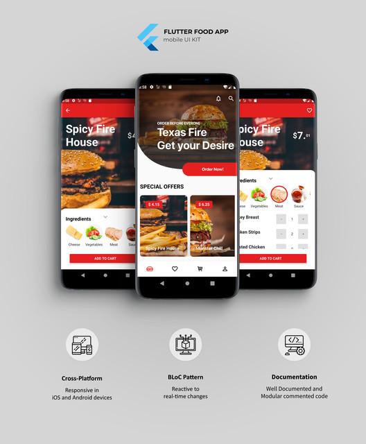 Flutter Food App UI KIT - 1