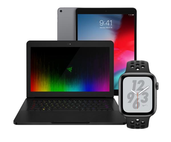 Authentic Fitbit Blaze Smart Fitness Watch, Black, Silver, Large (US Version)