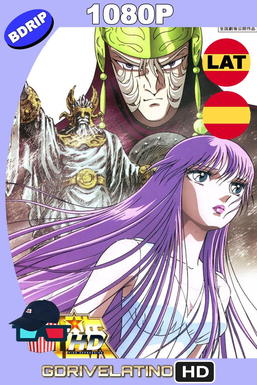 Saint Seiya: Los Caballeros del Zodiaco y la gran batalla de los dioses (1988) BDRip 1080p Latino-Castellano-Japonés MKV