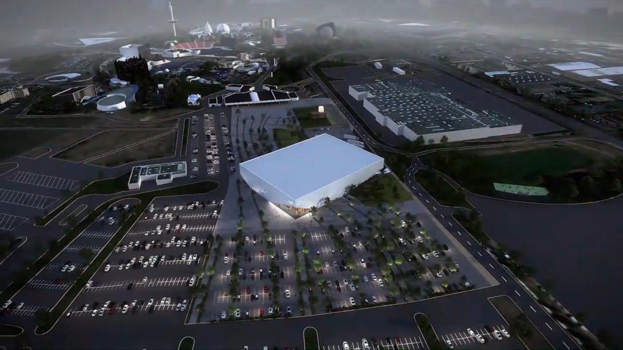 « Arena Futuroscope » grande salle de spectacles et de sports · 2022 - Page 6 Arena-vue2